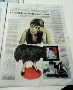 Noticia Diario de León Artista en Proceso