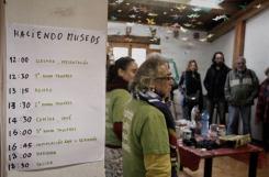 Organización de talleres HACIENDO MUSEOS