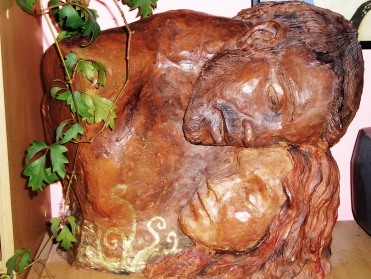 Busto en homenaje a Klimt