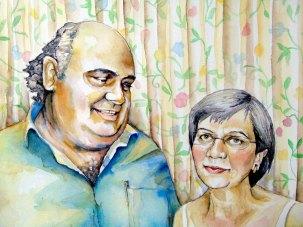 Retrato Ramiro y Yolanda