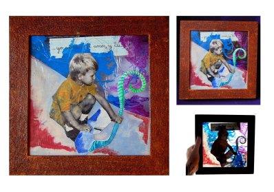 Serie Niño Interior -obra suelta