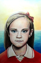Retrato sobrina Raquel