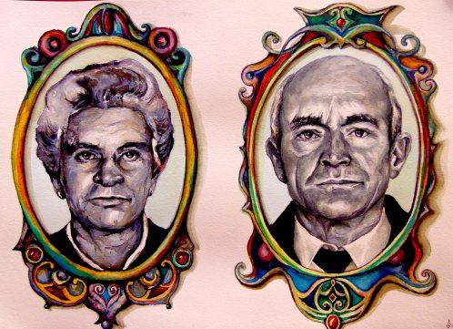 Retrato Tita y Tito