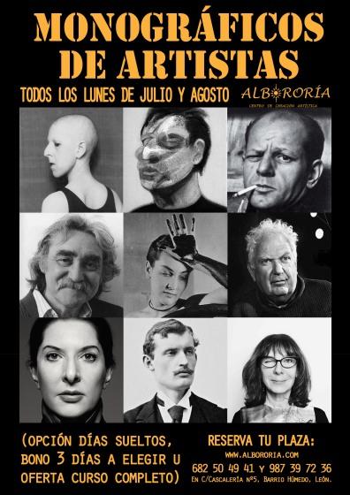 Albororía Cartel monográficos 2018