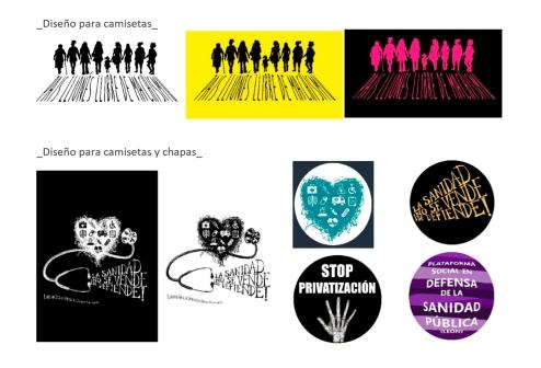 Diseño Camisetas Chapas