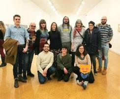 Colectivo La PiLA inauguración