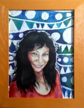Retrato Ruth